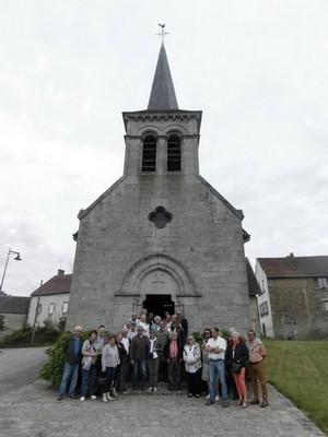 Visite du château de Villemonteix