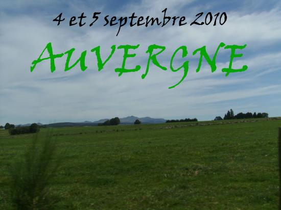 Week-End en Auvergne 2010