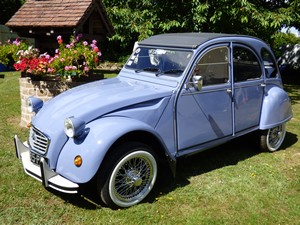 2cv6 bleu 1987 feret
