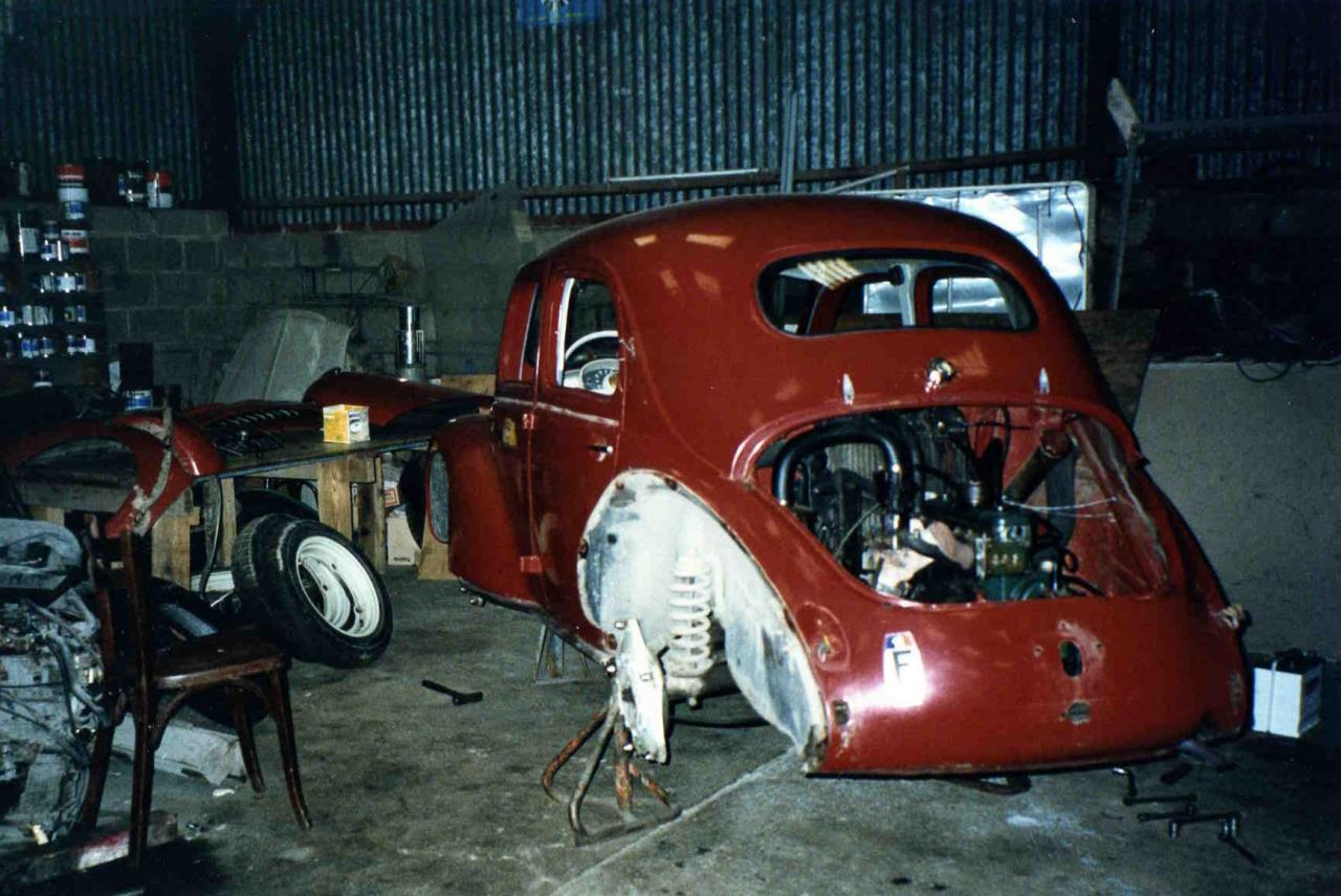 renault 4cv 1955 sw
