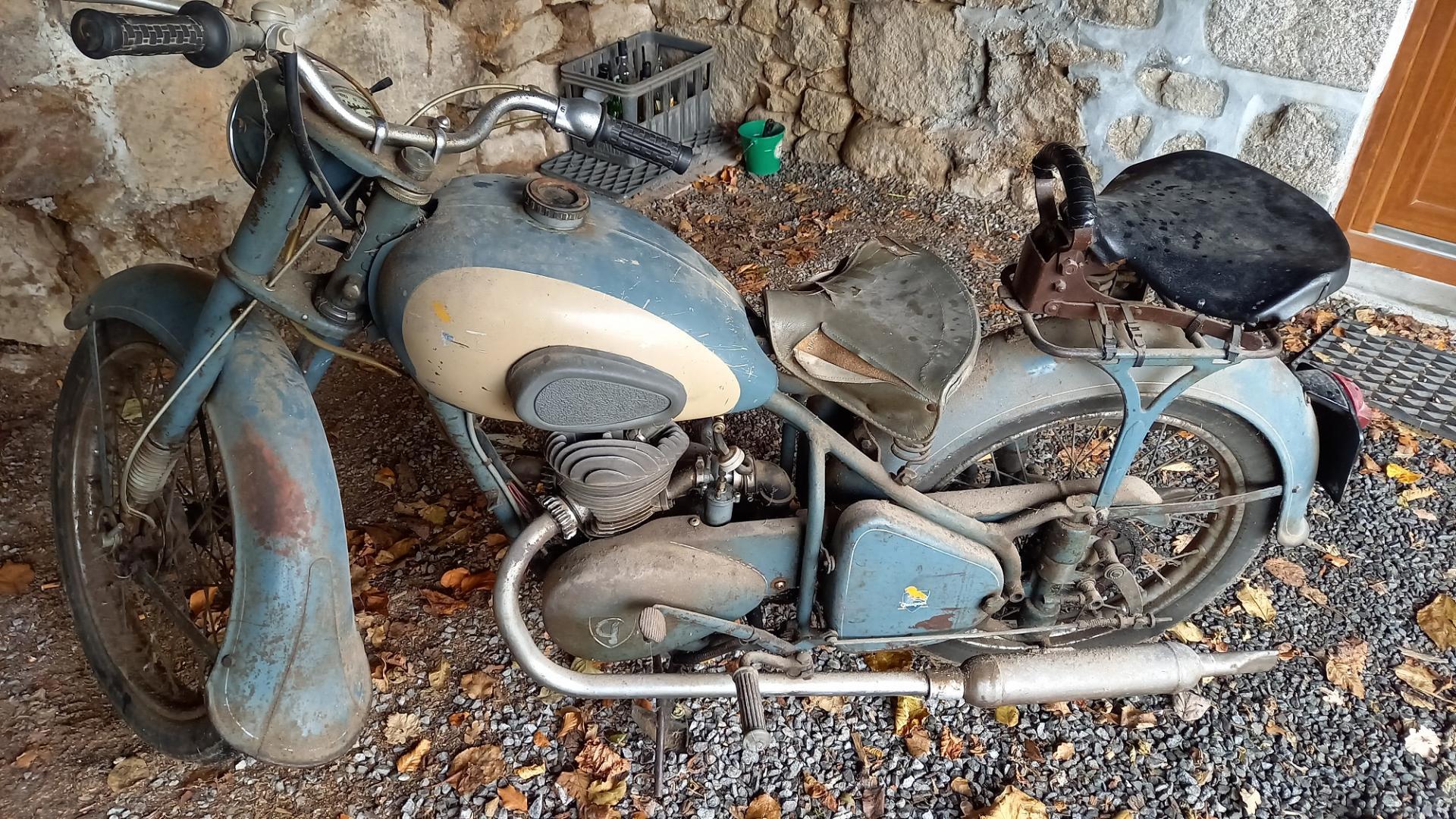 Dernier achat peugeot 125 57tc 1955 r