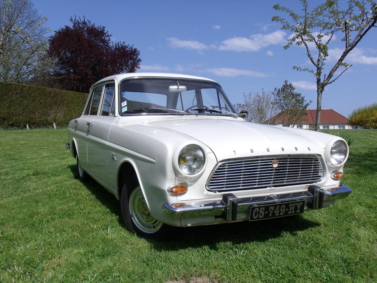 ford taunus 12m 1965
